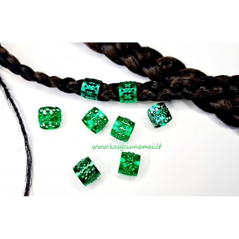 Žali maži žiedeliai