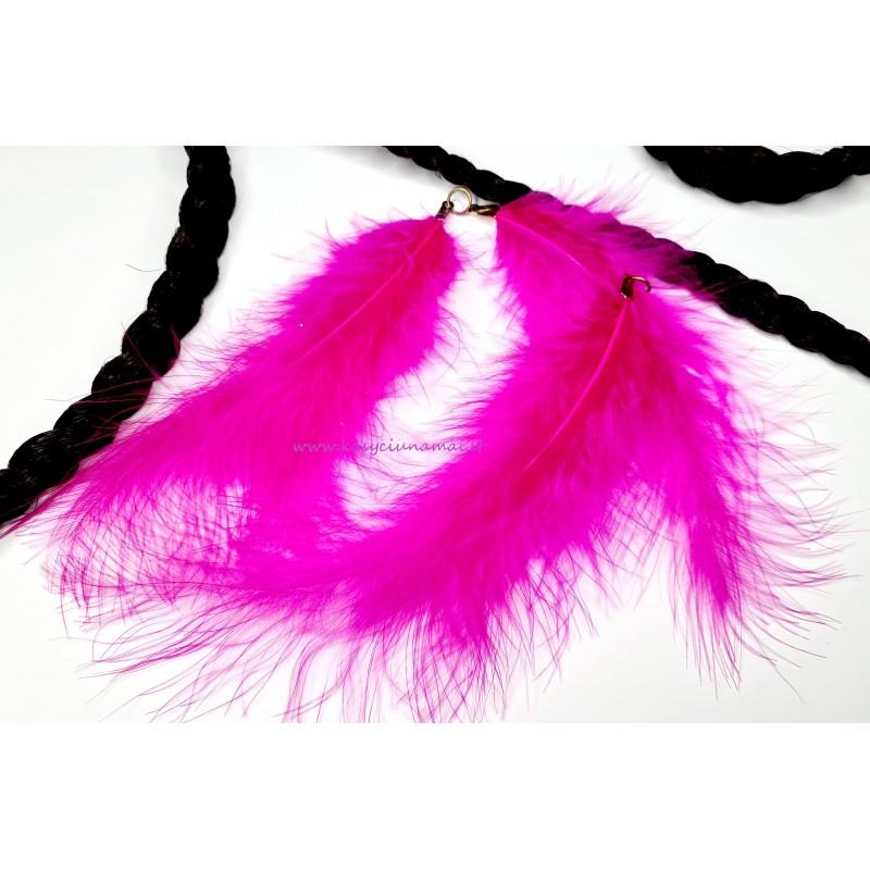 Rožinės plunksnos